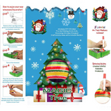 DIY Painting Toy Christmas Tree Decoration Set