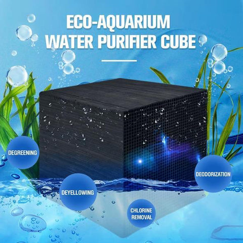 Eco-Aquarium Water Purifier Cube