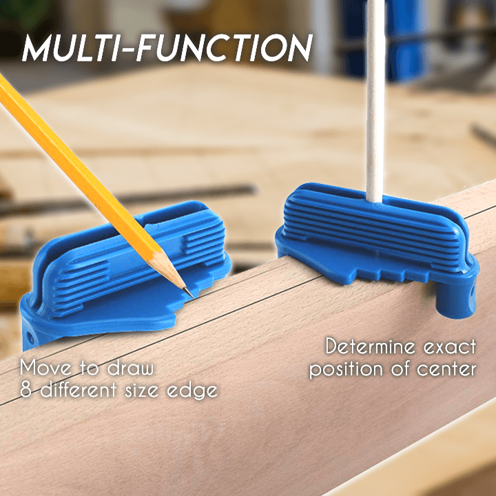 Multi-Function Magnetic Center Scriber