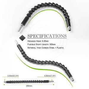 AMAZING!!! - Flexible Shaft Extension Bits - 50% OFF ONLY TODAY