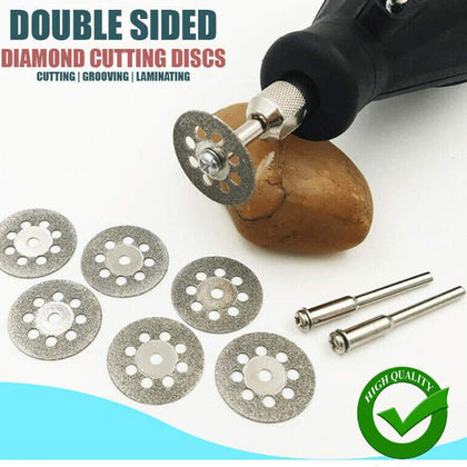 10Pcs Double Sided Diamond Cutting Discs™