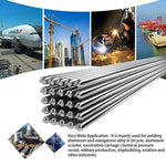 10 Pcs Easy Melt Welding Rods ® - Suitable for all White Metals