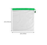 15 Pcs Reusable Produce Bags