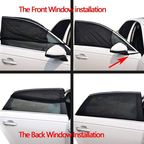 UNIVERSAL SOLAR CURTAIN FOR CAR WINDOW