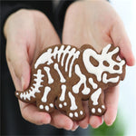 Dinosaur Cookie Mold (Set of 3 High Quality Molds)