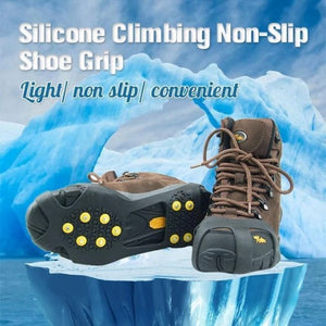 HOT SALE BLACK FRIDAY! - Silicone Climbing Non-Slip Shoe Grip-A Pair - 60% OFF ONLY TODAY!