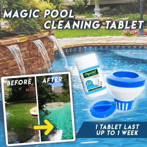 50% OFF ONLY TODAY!!! - Magic Pool Cleaning Tablet