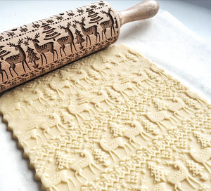 AMAZING!!! - Christmas 3D Rolling Pin - 50% OFF ONLY TODAY