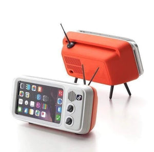 RETRO® TV BLUETOOTH SPEAKER MOBILE PHONE HOLDER - 50% OFF ONLY TODAY