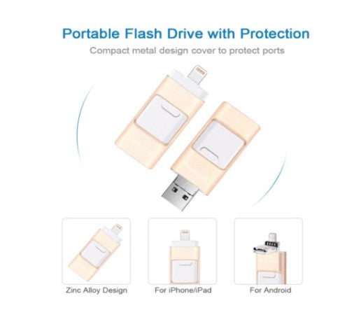 HOT SALE FOR CHRISTMAS! - iFlash USB Drive for iPhone, iPad & Android - 50% OFF ONLY TODAY!