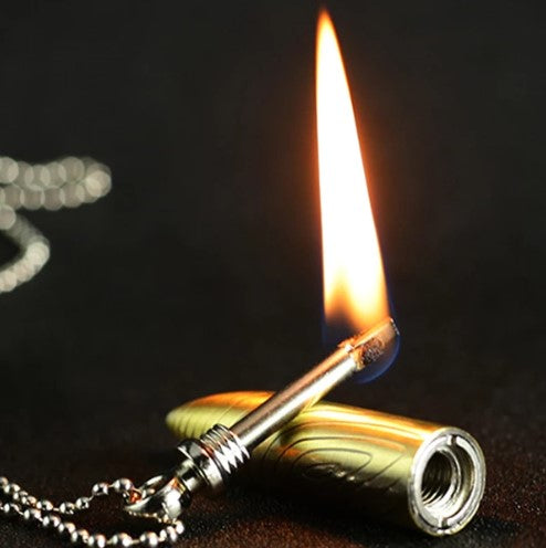 Bullet Shape Necklace and Lighter - 50% OFF ONLY TODAY!!!!