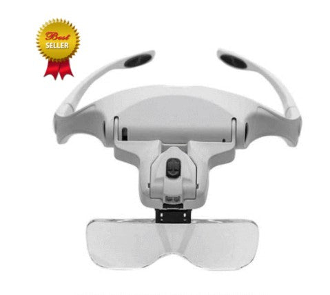 2 Illuminated Head Magnifier to