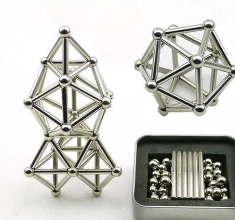 Bucky® Balls & Bars Magnetic Set