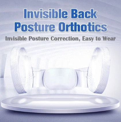 50% OFF ONLY TODAY!!! - Invisible Back Posture Orthotics