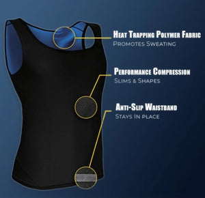 BY CHRISTMAS!!! - Sweat Shaper Sauna Vest - 50% OFF ONLY TODAY!!!