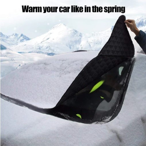 AMAZING OFFER!!! - Universal Premium Windshield Snow Cover Sunshade - 50% OFF TIME LIMITED!