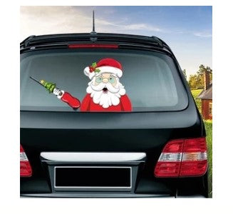 MERRY CHRISTMAS!!! - Windshield Wiper Labels - BUY 1 GET 1 FREE!