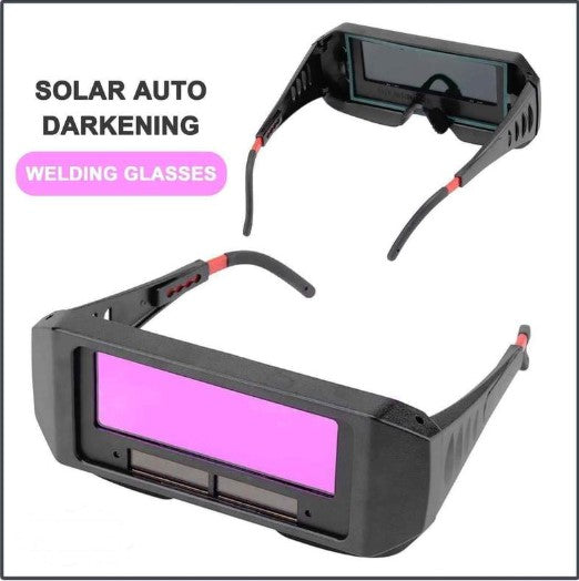 AMAZING!!! SOLAR AUTO DARKENING WELDING GLASSES® BUY 1 GET 1 FOR FREE