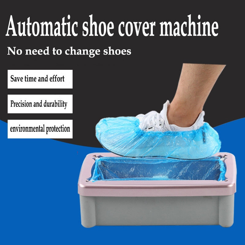 SPECIAL OFFER Automatic Shoe Cover Dispenser 50% OFF ONLY TODAY