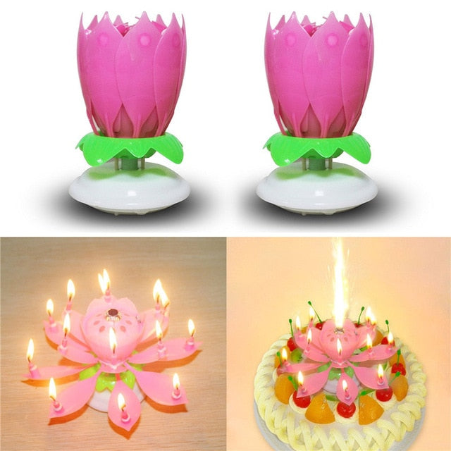 SPECIAL OFFER!! Magic Flower Birthday Candle 50 % OFF ONLY TODAY!!