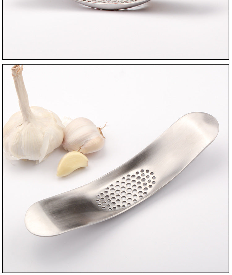 Kitchen Gadgets Stainless Steel Garlic Press Crusher Cooking Tools