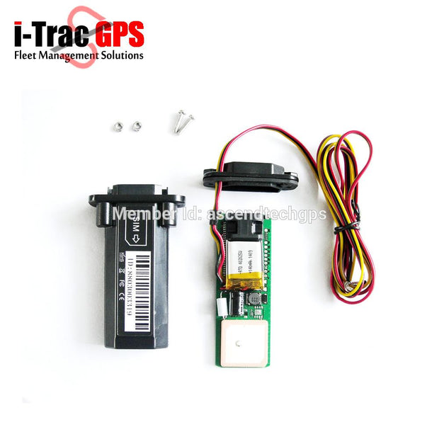 GPS Tracker for Cars/Trucks/Motorcycles with Tracking Software