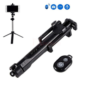 50% OFF ONLY TODAY  3 en 1 Bluetooth inalámbrico Selfie Stick