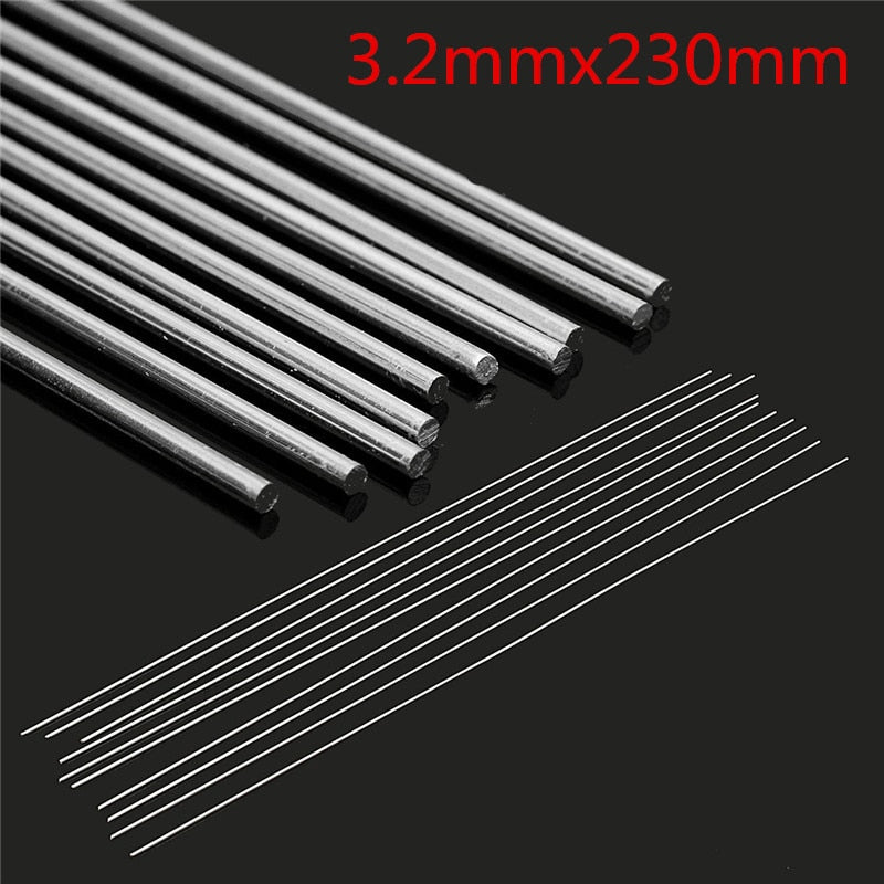 x2 10 Pcs Easy Melt Welding Rods ® - Suitable for all White Metals