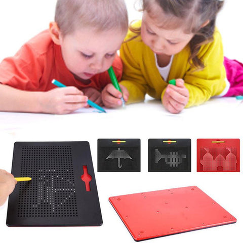 Magnetic Board Drawing Tablet ® - Includes A Pen