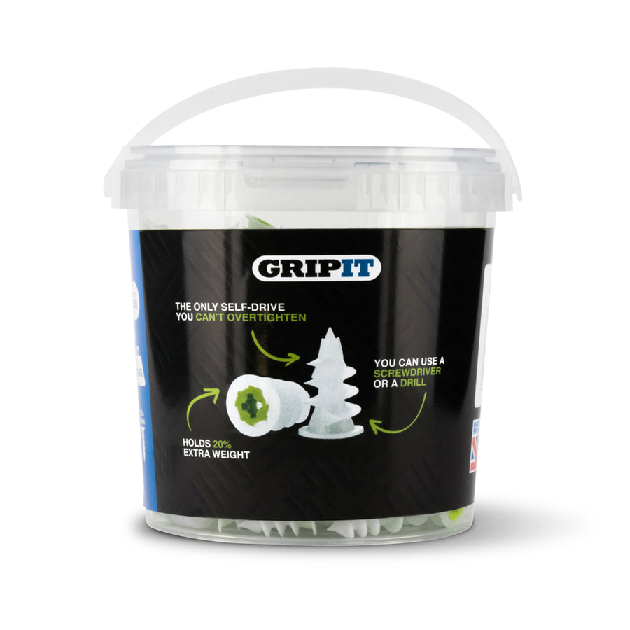 Gripit – Fixing Heavy Stuff to Plasterboard Up To 113kg!