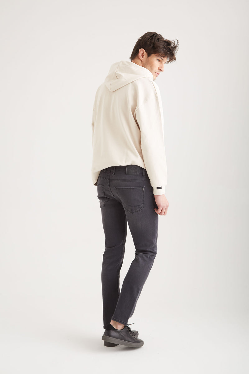 Ray - Slim Fit - Dark Grey Vintage
