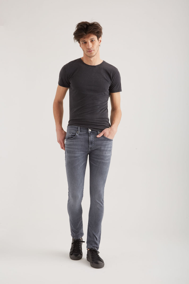 Leo - Slim Fit Wellflex - Smoke Grey