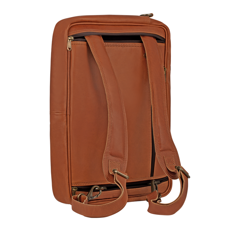 Convertible backpack messenger
