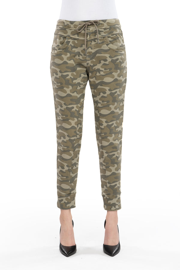 Mila - Jogging Jeans - Light Camo