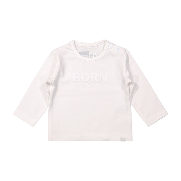Hunter - Longsleeve Uni - Wit