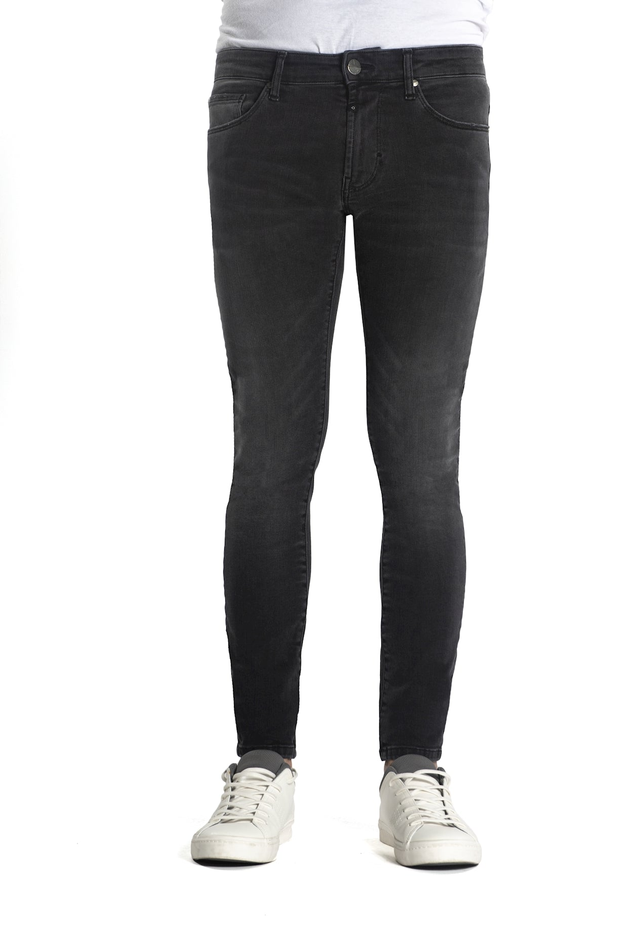 Patrick - Skinny fit Wellflex - Coal Black