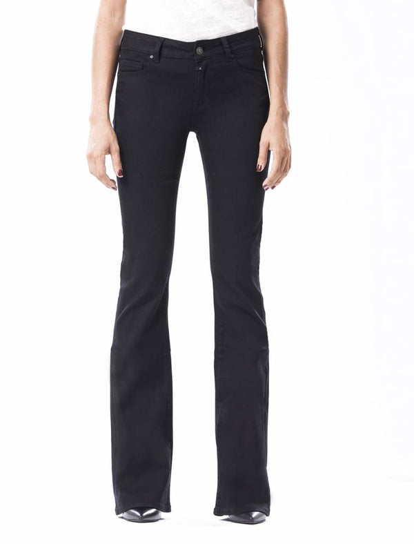 Laura - Flare Jeans - Stay Black