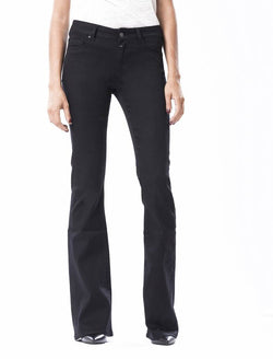 Laura Stay Black Flared Jeans – Constyle