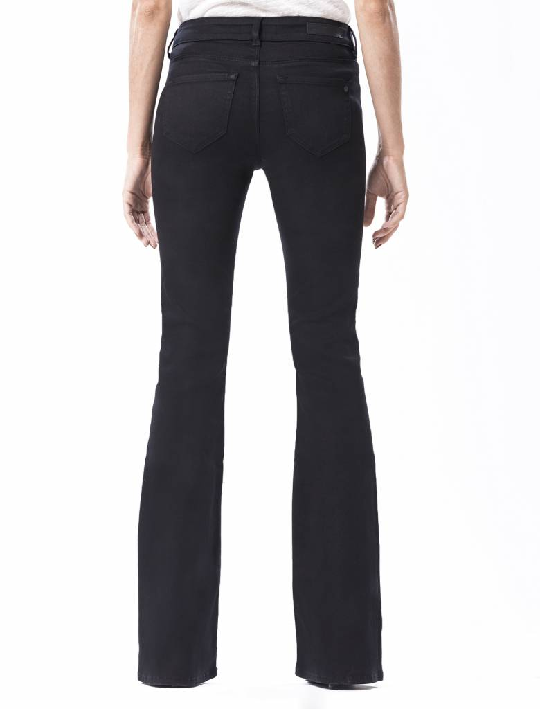 Laura Stay Black Flared Jeans