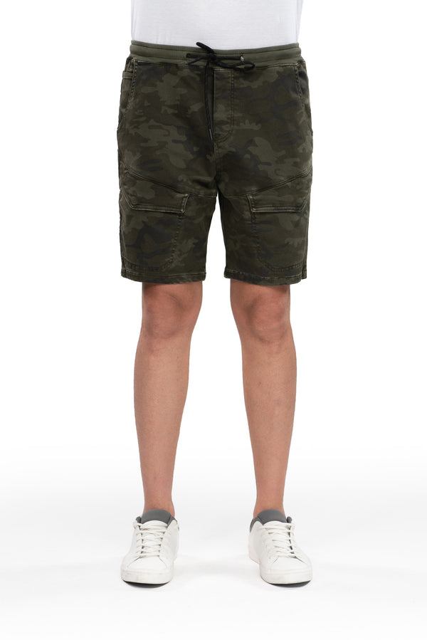 Carl - Jog Short - Dark Camo