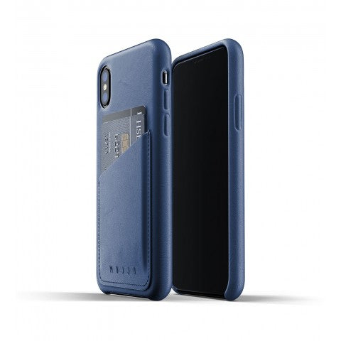 Full Leather Wallet Case for iPhone Xs