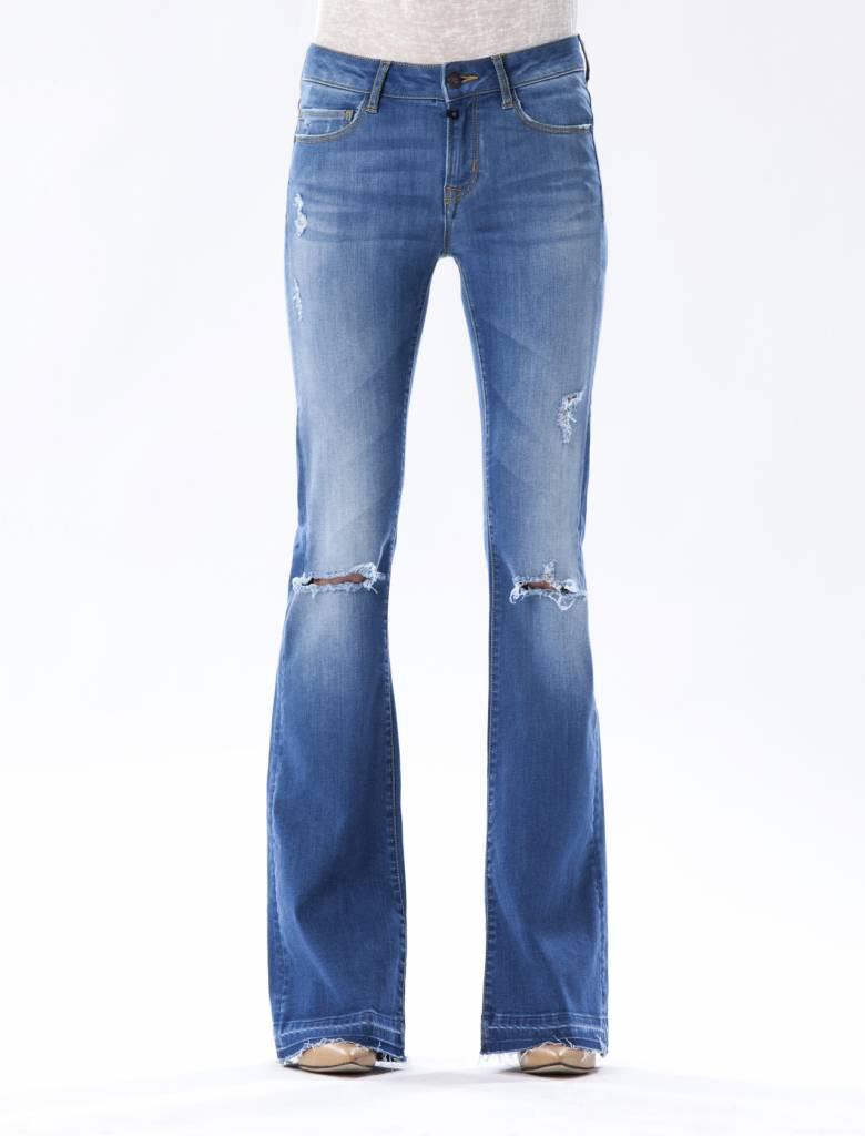Laura - Flare Jeans - Bright Vintage