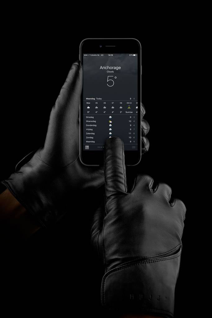 Leather Touchscreen Gloves