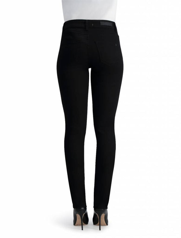 Monica - High Waist Skinny - Stay Black