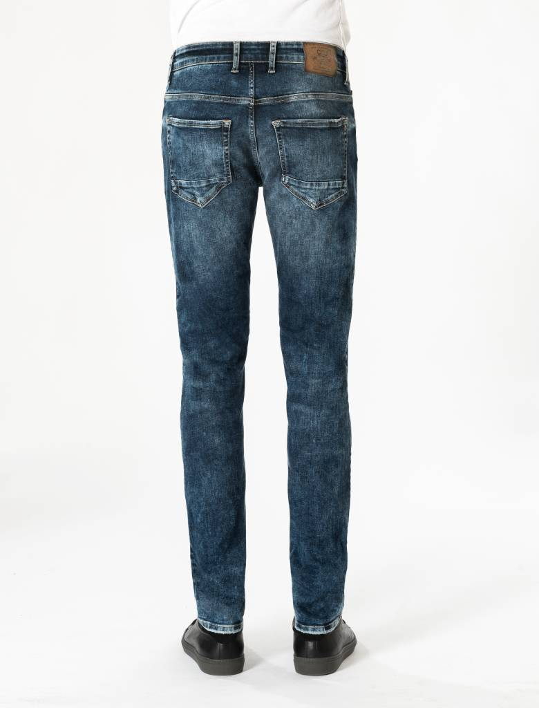 Ray Midnight Blue Faded Jeans