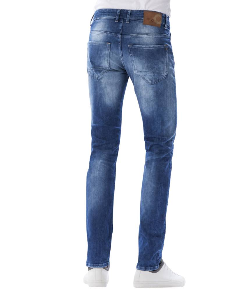 Ray Bright Blue Slim Fit Jeans – Constyle