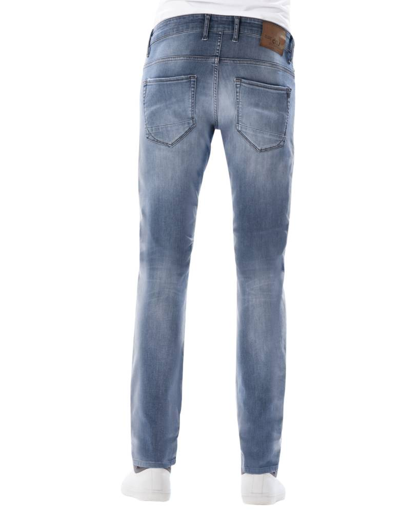 Ray - Slim Fit - Misty Blue