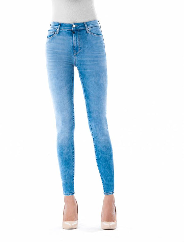 Sophia - Super Skinny Stretch - Ceramic Blue