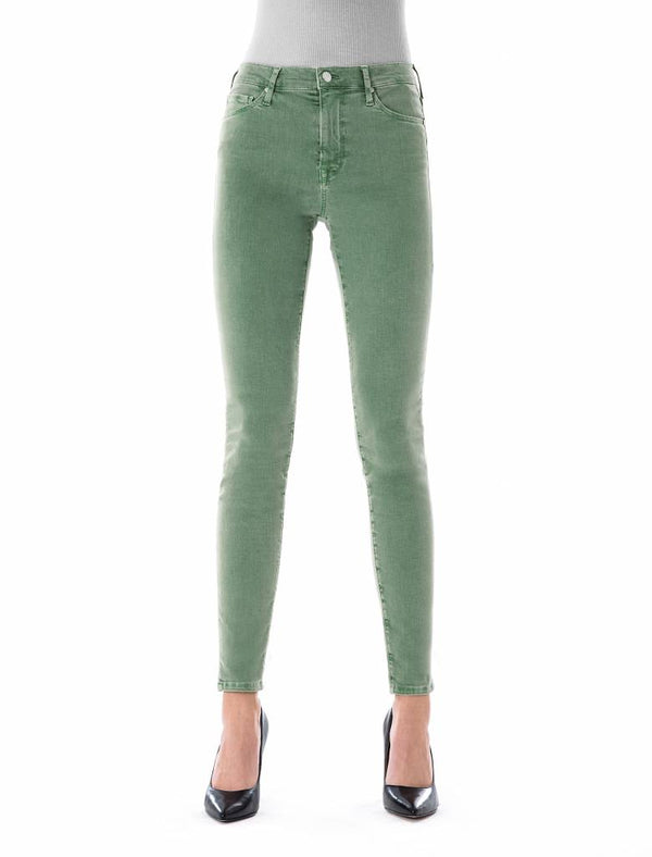 Sophia Middle Green Reshaped Jeans