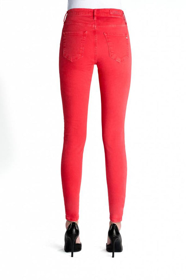 Sophia Poppy Red Reshaped Jeans